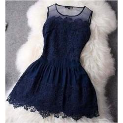 Vestido Vintage De Renda Festa Casamento Formatura