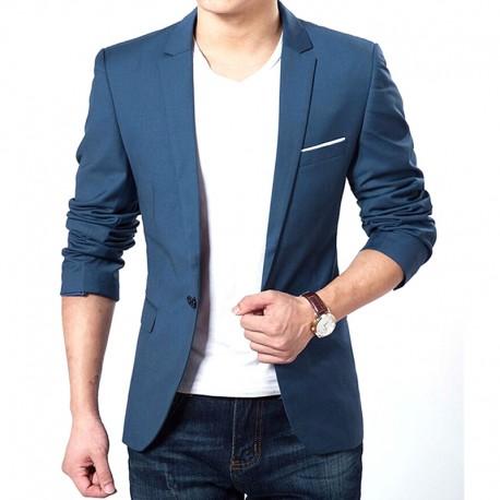 Blazer Slim Fit Luxo Casual Masculino Importado