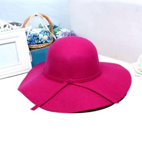 Chapéu Floppy Feminino Moda Tendência Retrô