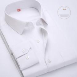 Camisa Branca Azul Preta e Lilás Masculina Casual Slim Fit
