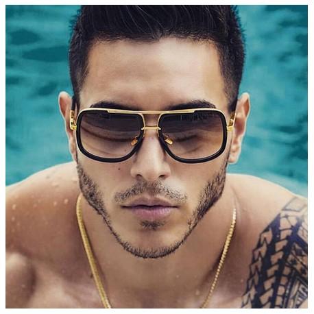 Óculos De Sol Unissex Fashion Proteção Uv