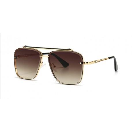 Óculos De Sol Vintage Unissex Gradiente