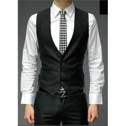 Colete Social Masculino Slim Fit